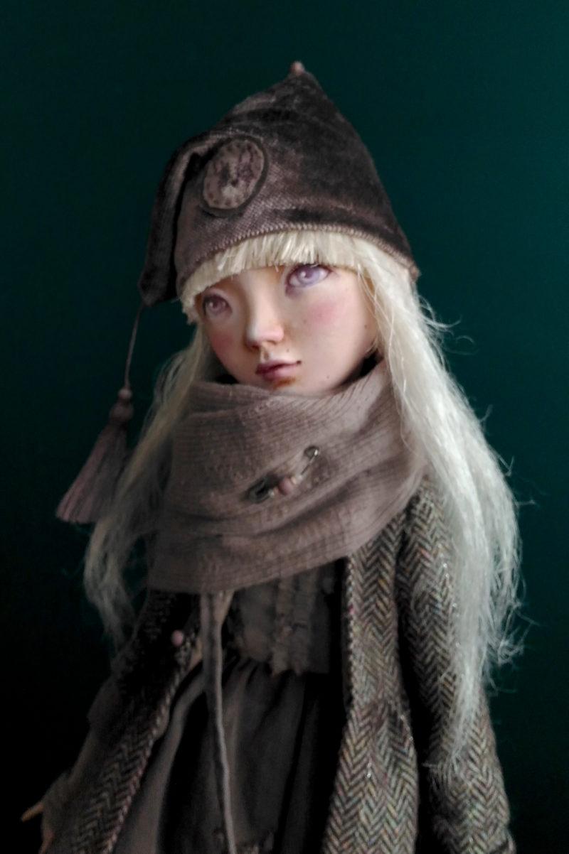 5asha - art doll by Anna Zueva