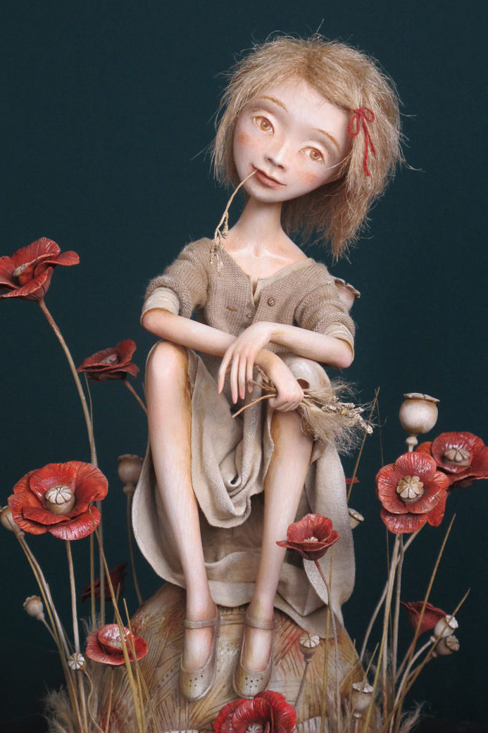 Poppies - by Anna Zueva