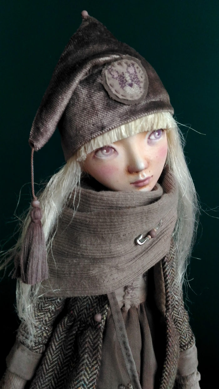 5asha - art doll by Anna Zueva