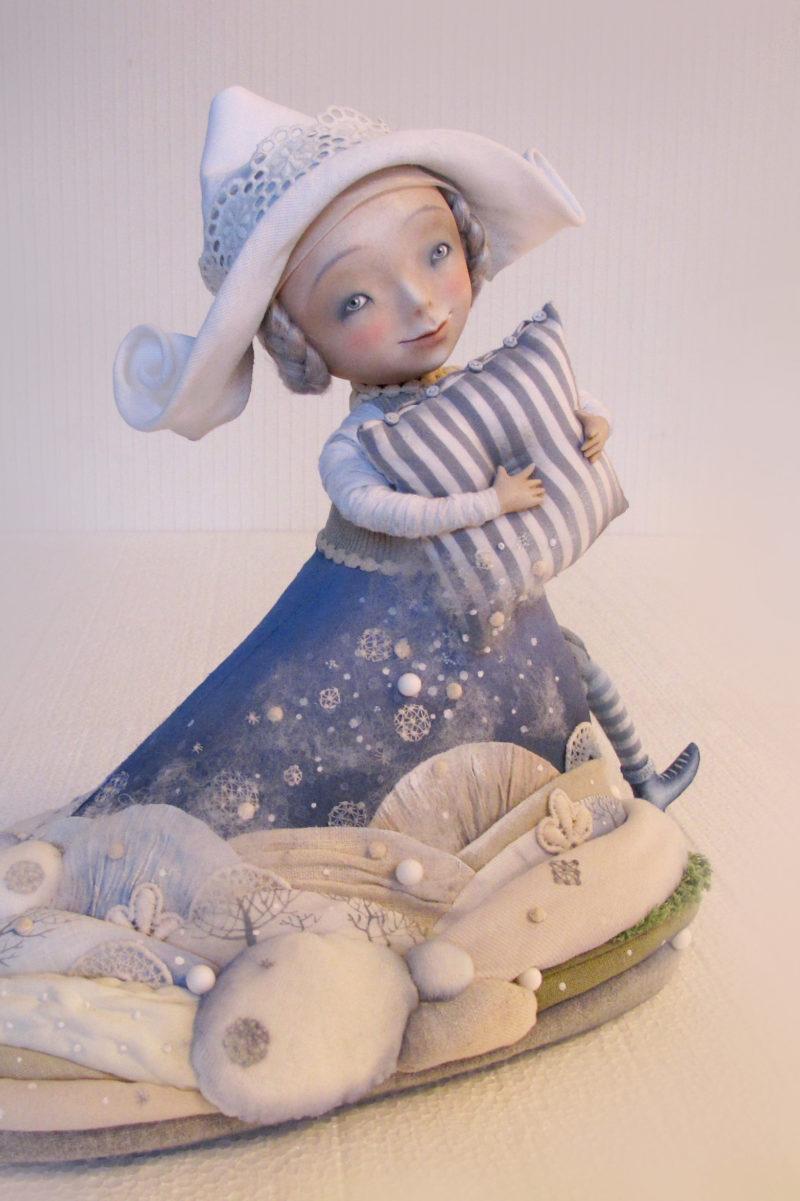 Lady Snowstorm - by Anna Zueva