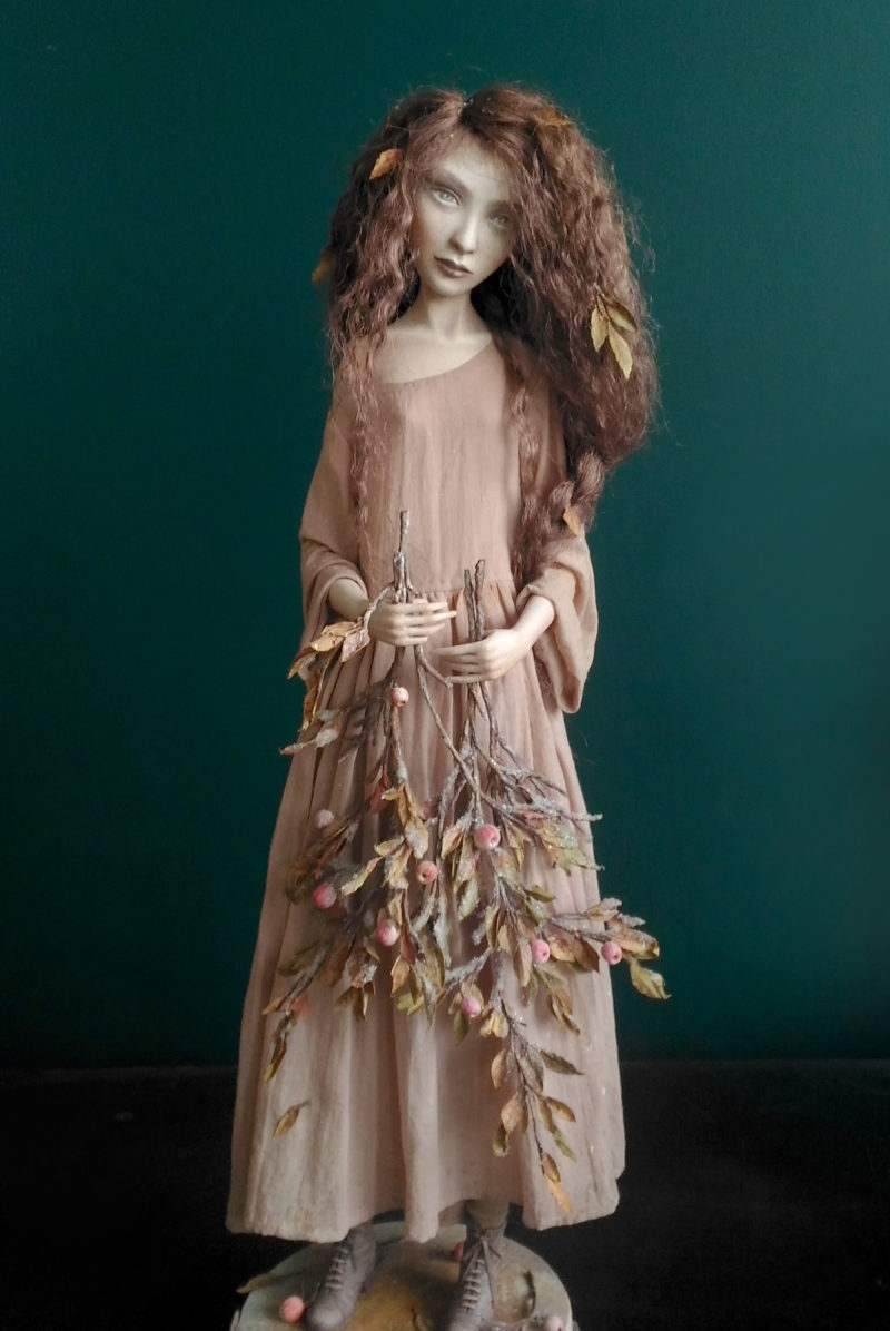 Autumn. Insomnia — art doll by Anna Zueva