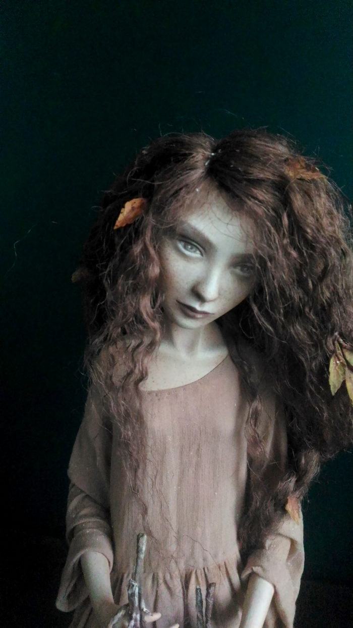 Autumn. Insomnia — art doll by Anna Zueva