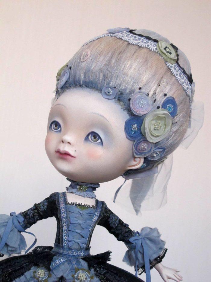 Praskovia Tulupova - art doll by Anna Zueva