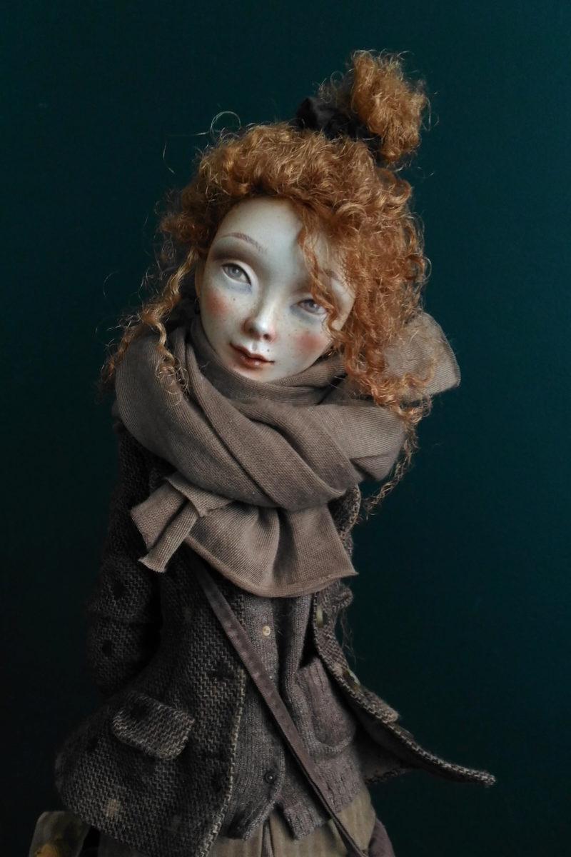 Lera. Nameday - art doll by Anna Zueva