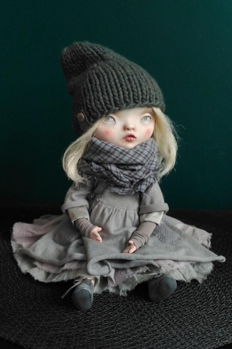 Bronislava - art doll by Anna Zueva