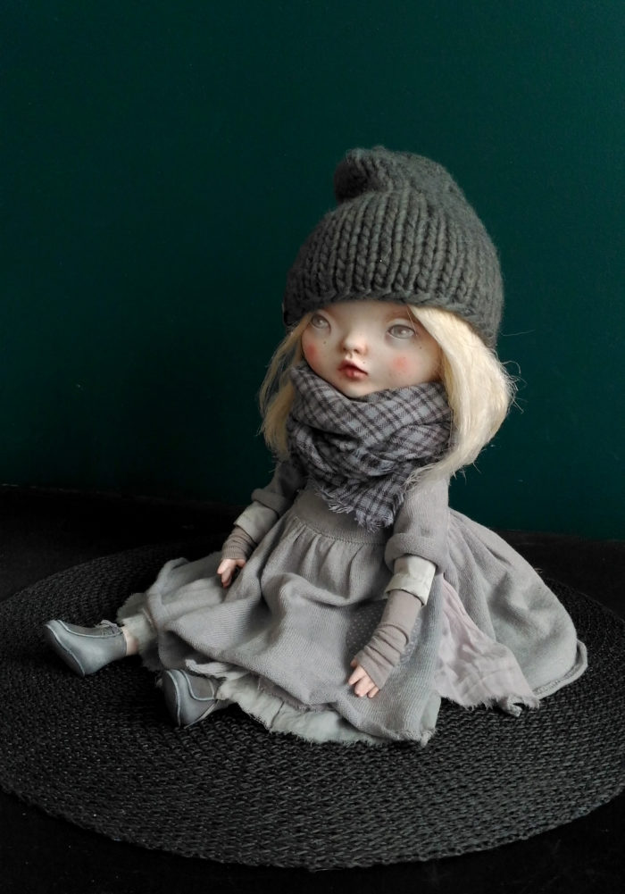 Bronislava - art doll by Anna Zueva