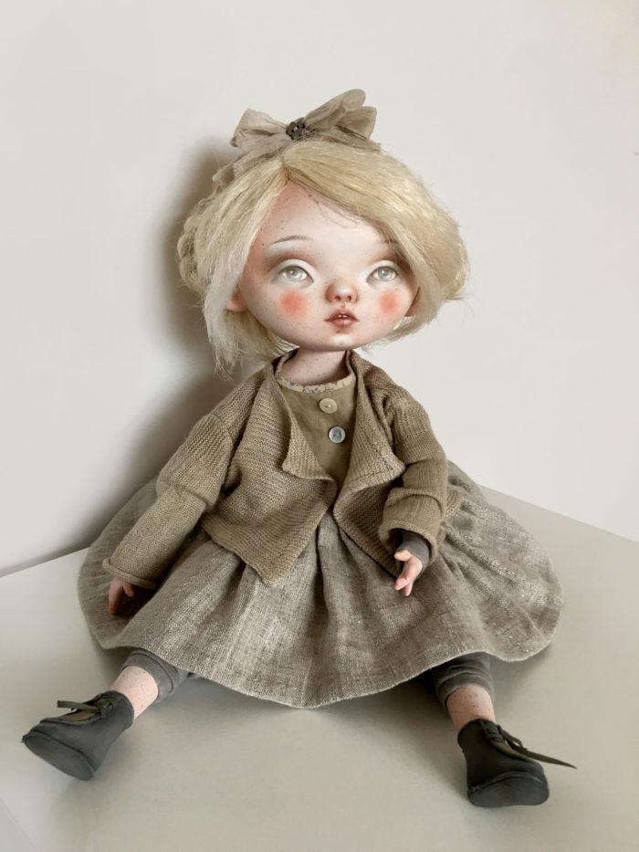 Zosia - artist doll by Anna Zueva