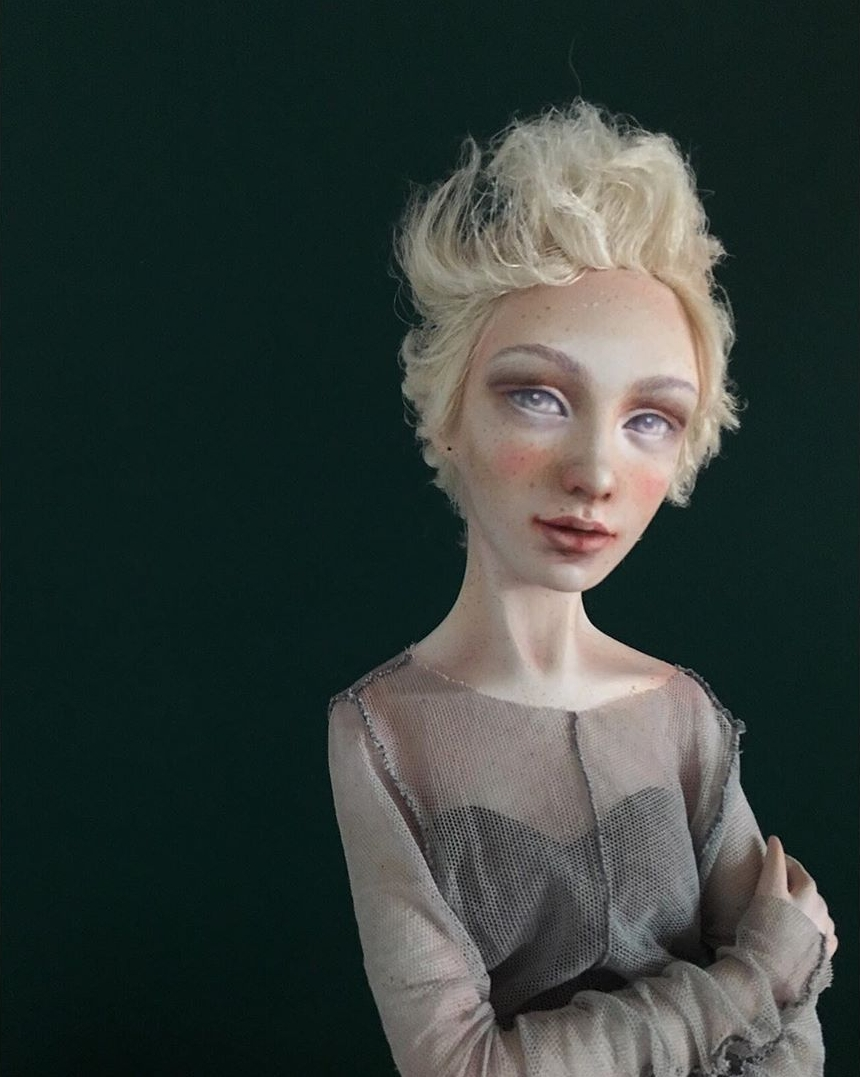 Bella - art doll by Anna Zueva