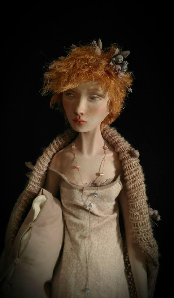 Tanya - art doll by Anna Zueva