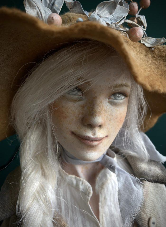 Artist doll by Anna Zueva