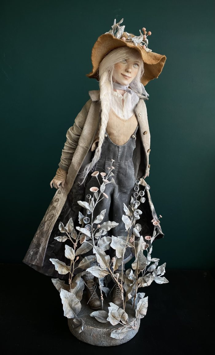 Gunilla - art doll by Anna Zueva